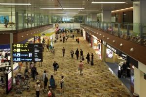 Terminal 1 am Changi AirportQuelle: Singapore Changi Airport