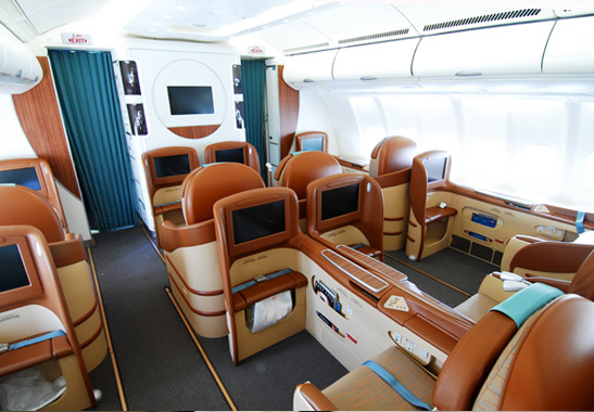 Business Class Sitz Oman AirQuelle: Oman Air
