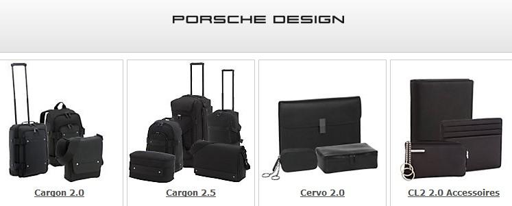 Porsche Desing, ein edler Kofferhersteller im Mittelpreissegment Foto: Koffer direkt