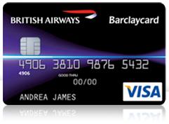 British Airways Barclaycard Foto: Barclaycard