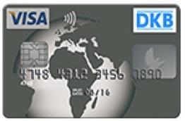 Visa Kreditkarte der DKB Bank Foto: DKB Bank