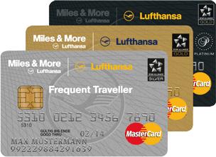 Miles&More Kreditkarte Foto: Lufthansa
